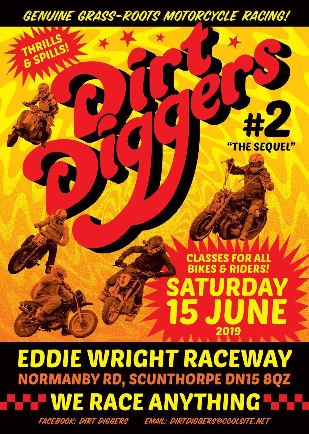 Dirt Diggers poster 2019