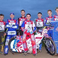 Team. Josh Bailey, Josh Auty, Jake Allen, Jason Garrity(on bike), Ryan Kinsley, Stefan Nielsen, Jedd List